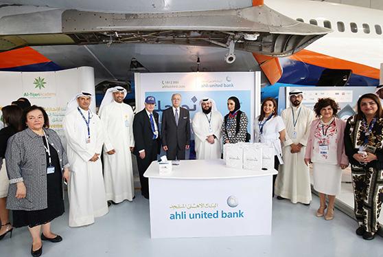 البنك الأهلي المتحدّ يشارك في المعرض الوظيفي بالكلية الإسترالية فى الكويت