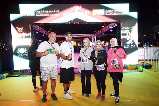 البنك الأهلي المتحد يشارك في رعاية لسباق اتحاد المصارف الليلي KBA Night
