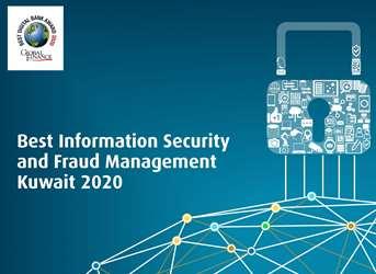 البنك الأهلي المتحد يحصل على جائزة أفضل بنك في حماية أمن المعلومات وإدارة عمليات الإحتيال فى الكويت لعام 2020 من جلوبل فاينانس العالمية