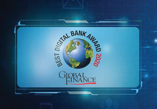 """For the 4th year in a row Ahli United Bank wins Global Finance """"Best Online Cash Management Bank"""" in Kuwait, 2020 Award"""
